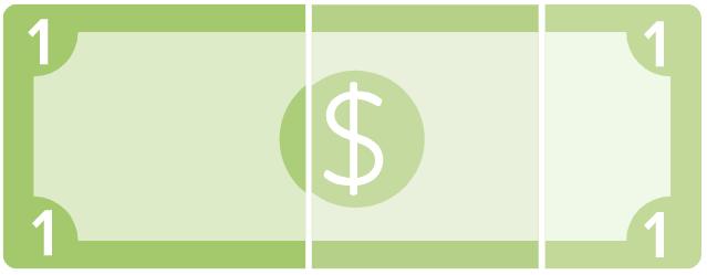 Dollar Image Graphic.